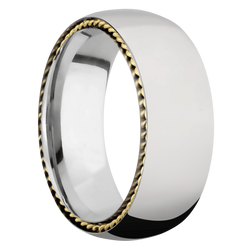 Ring with Sidebraid Inlay