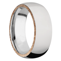 Ring with Side Inlay