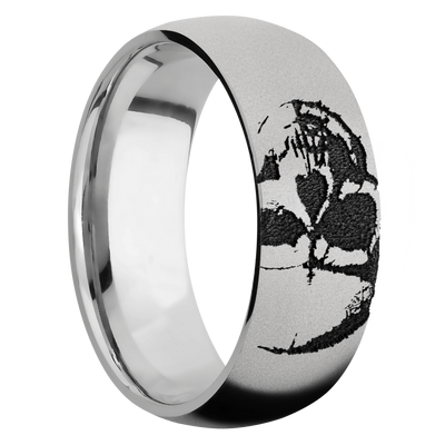 Ring with Skull Pattern