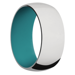 Ring with Teal Sleeve