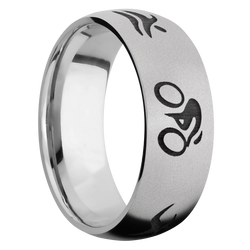Ring with Triathlon Pattern