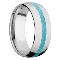 Ring with Turquoise Inlay
