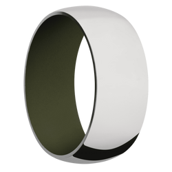 Ring with Vintage Green Sleeve