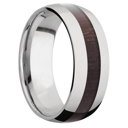 Ring with Wenge Inlay