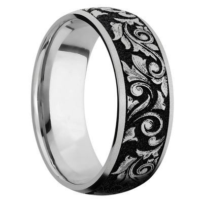 Ring with Western Scroll Pattern
