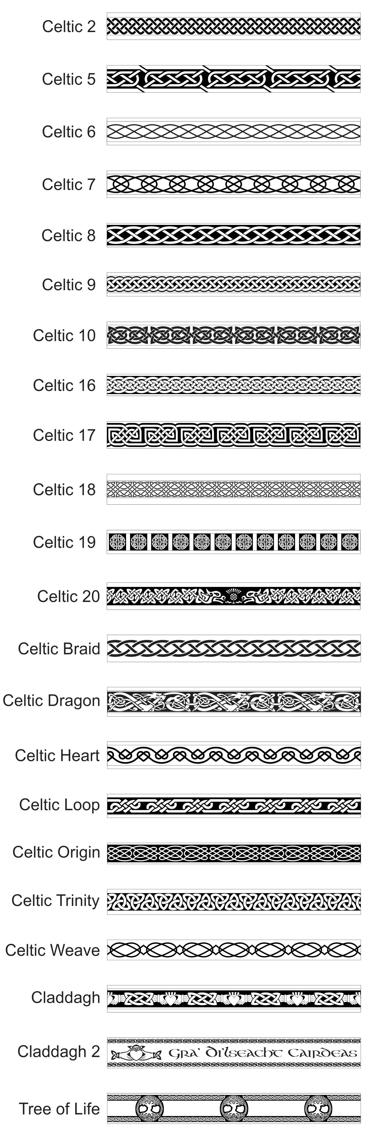 Celtic Patterns For Rings And Bands Revolution Jewelry Designs
