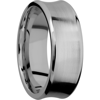 Concave Bevel Shape Ring