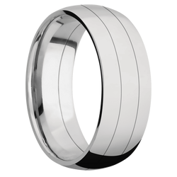 Ring with Titanium Inlay