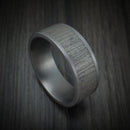 Tantalum Textured Band Custom Made Ring by Benchmark
