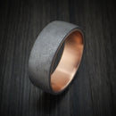 Tantalum and 14K Rose Gold Ring by Ammara Stone