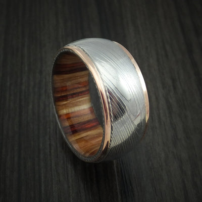 Hazelnut Wood Hardwood Wedding Bands and Engagement Rings