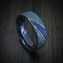 Kuro-Ti Twisted Titanium Heat-Treated Ring Custom Made Band