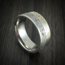 Titanium Ring with Mokume and Meteorite Custom Made