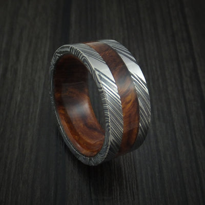 Desert Ironwood Burl Hardwood Wedding Bands and Engagement Rings