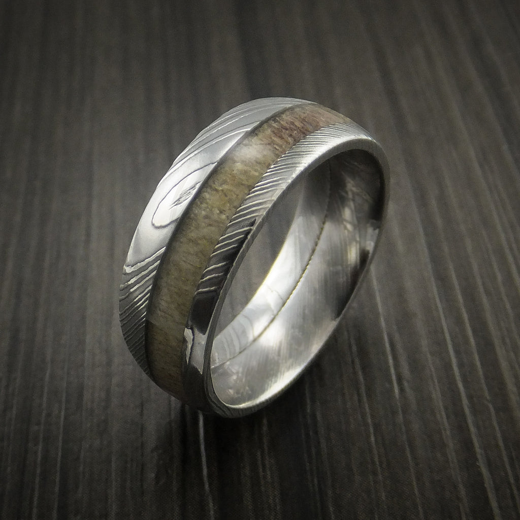 the antler options deer wedding bend choose big men rings camo for