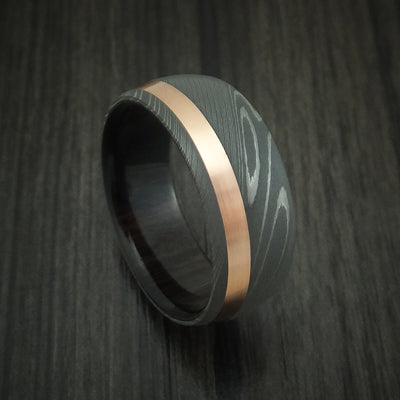 Ebony Hardwood Wedding Bands and Engagement Rings