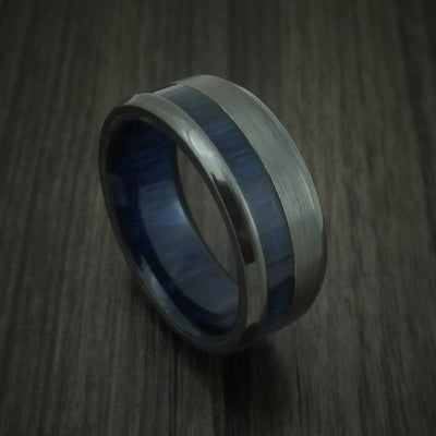 Blueberry Hardwood Wedding Bands and Engagement Rings