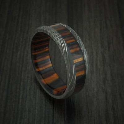 Ember Hardwood Wedding Bands and Engagement Rings