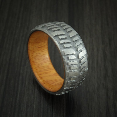 Osage Orange Hardwood Wedding Bands and Engagement Rings