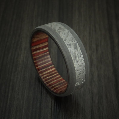 English Oak Hardwood Wedding Bands and Engagement Rings