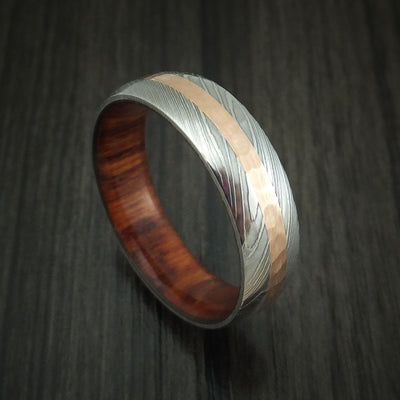 Snakewood Hardwood Wedding Bands and Engagement Rings
