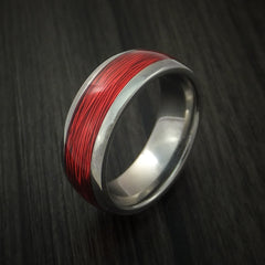 Titanium and Wire Ring Custom Made Choose your Color - Revolution Jewelry  - 4