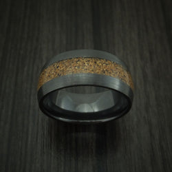 Dinosaur Bone Men's Wedding Band