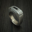 Titanium Utility Ring Custom Made to Your Size
