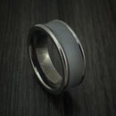 Tantalum Concave Band Custom Made Ring by Benchmark