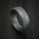Tantalum Band with Swirled Finish Custom Made Ring by Benchmark