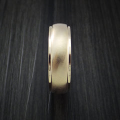 14K Rose Gold Classic Style Wedding Band Custom Made by Revolution Jewelry