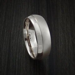14K Rose Gold Classic Style Band with Two-Tone Finish Custom Made Ring - Revolution Jewelry  - 9