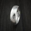 Kuro Damascus Steel Ring Custom Made Wedding Band