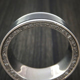 Platinum and Elysium Diamond Eternity Diamond Ring Custom Made Band