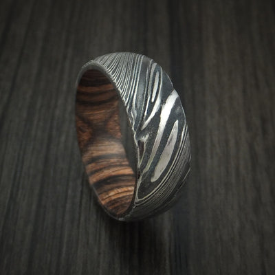 Ziriciote Hardwood Wedding Bands and Engagement Rings