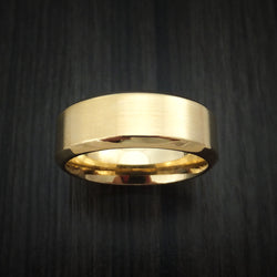 14k Solid Gold Men's Wedding Band