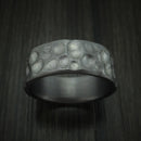 Tantalum Ring with Lunar Surface Finish Custom Made Ring