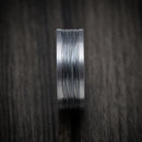 Tantalum and Black Titanium Band Custom Made Ring