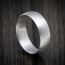14K White Gold Domed Classic Wedding Band