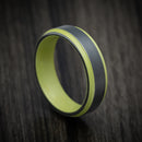 Black Zirconium And Cerakote Ring Custom Made