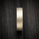14K Gold and DiamondCast Sleeve Ring Custom Made