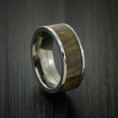 Thuya Burl Hardwood Wedding Bands and Engagement Rings