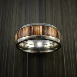 Exotic Hardwood Men's Wedding Band