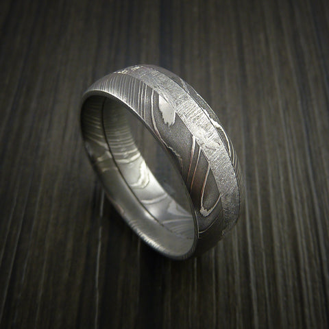 xmeteorite damascus ic wedding engagement rings index pagespeed meteorite meteor ring