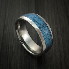 Titanium and Wire Ring Custom Made Choose your Color - Revolution Jewelry  - 9