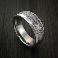 Titanium and Wire Ring Custom Made Choose your Color - Revolution Jewelry  - 11