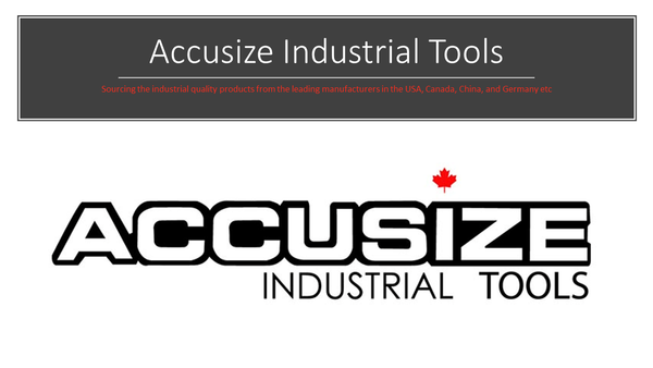 Video of introduction of Accusize Industrial tools