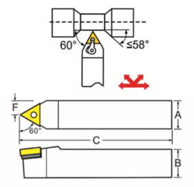 DIAGRAM OF ACCUSIZE MTENN TOOL HOLDER