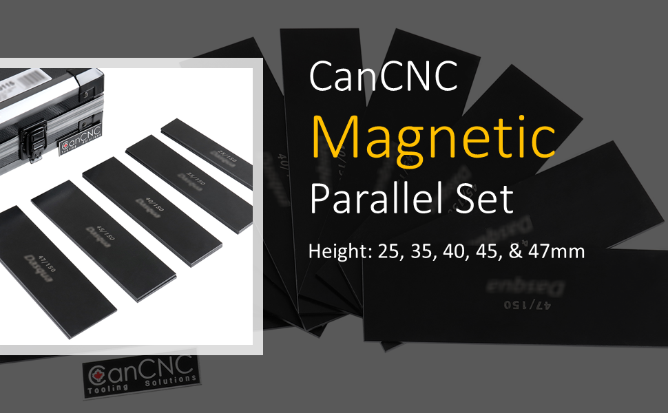 CanCNC Tooling Solutions 2818-0115 Magnetic Parallel Set