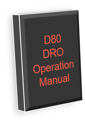 D80 DRO Operation Manual